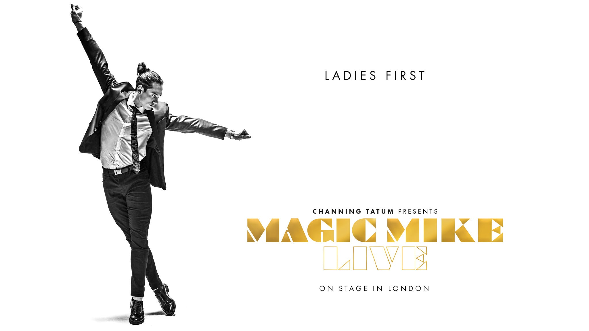 Magic Mike Live Event Title Pic