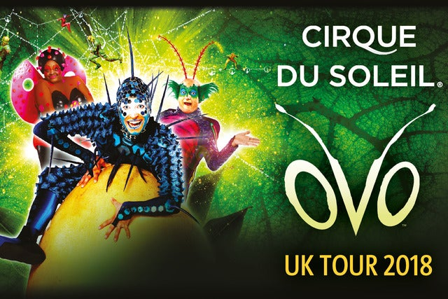 Cirque du Soleil: OVO - Hot Ticket Package