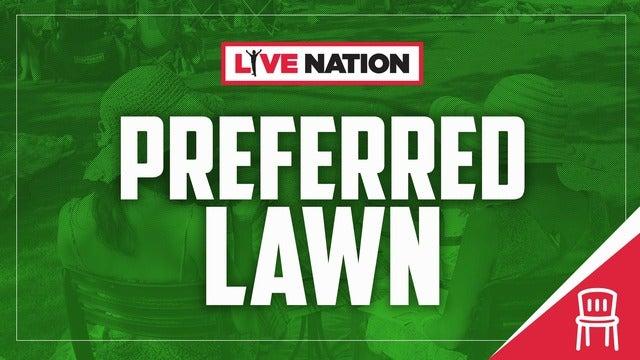 Xfinity Theatre Preferred Lawn Upgrade