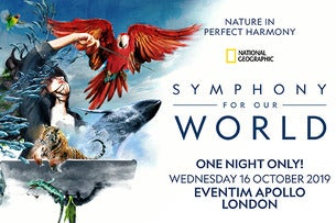 National Geographic: Symphony For Our World Seating Plans