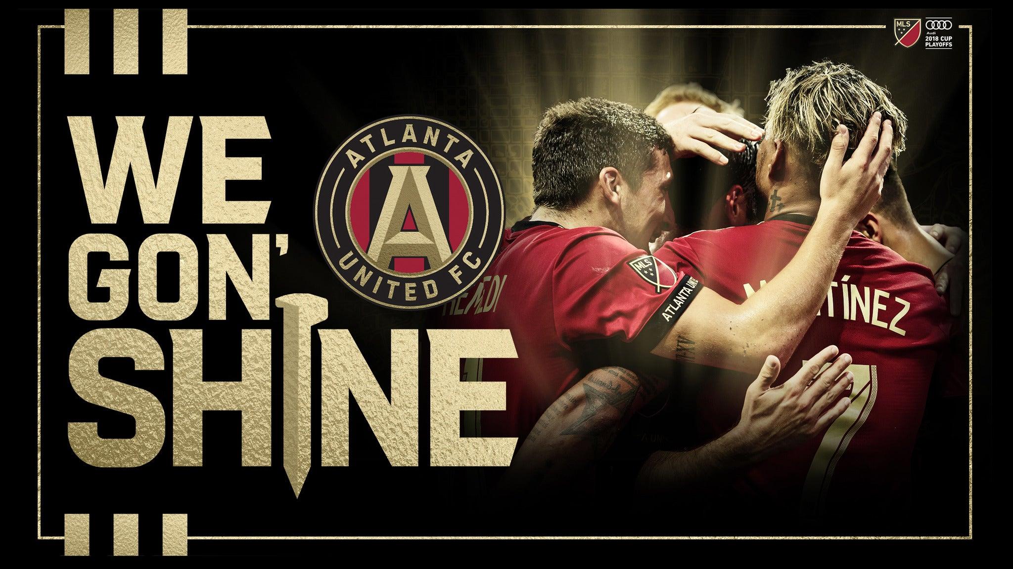 SORRY, THIS EVENT IS NO LONGER ACTIVE<br>Eastern Conference Semi-Final: Atlanta United vs. NYCFC - Atlanta, GA 30313