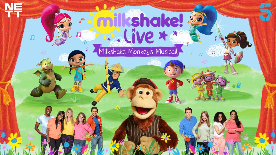 Milkshake! Live - Milkshake Monkey's Musical Seating Plans