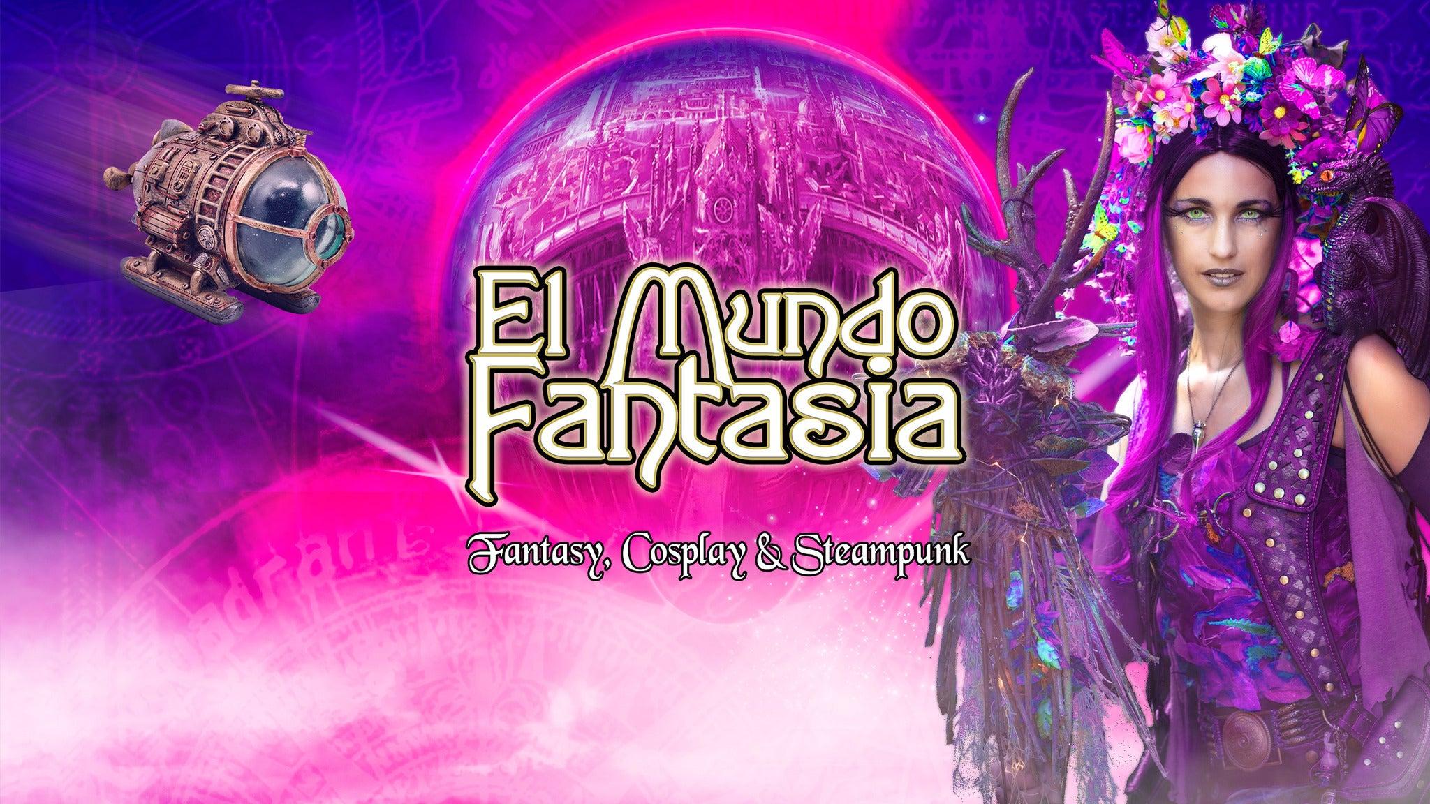 El Mundo Fantasia - 5th edition - (Timeslot 10.00 - 11.00)