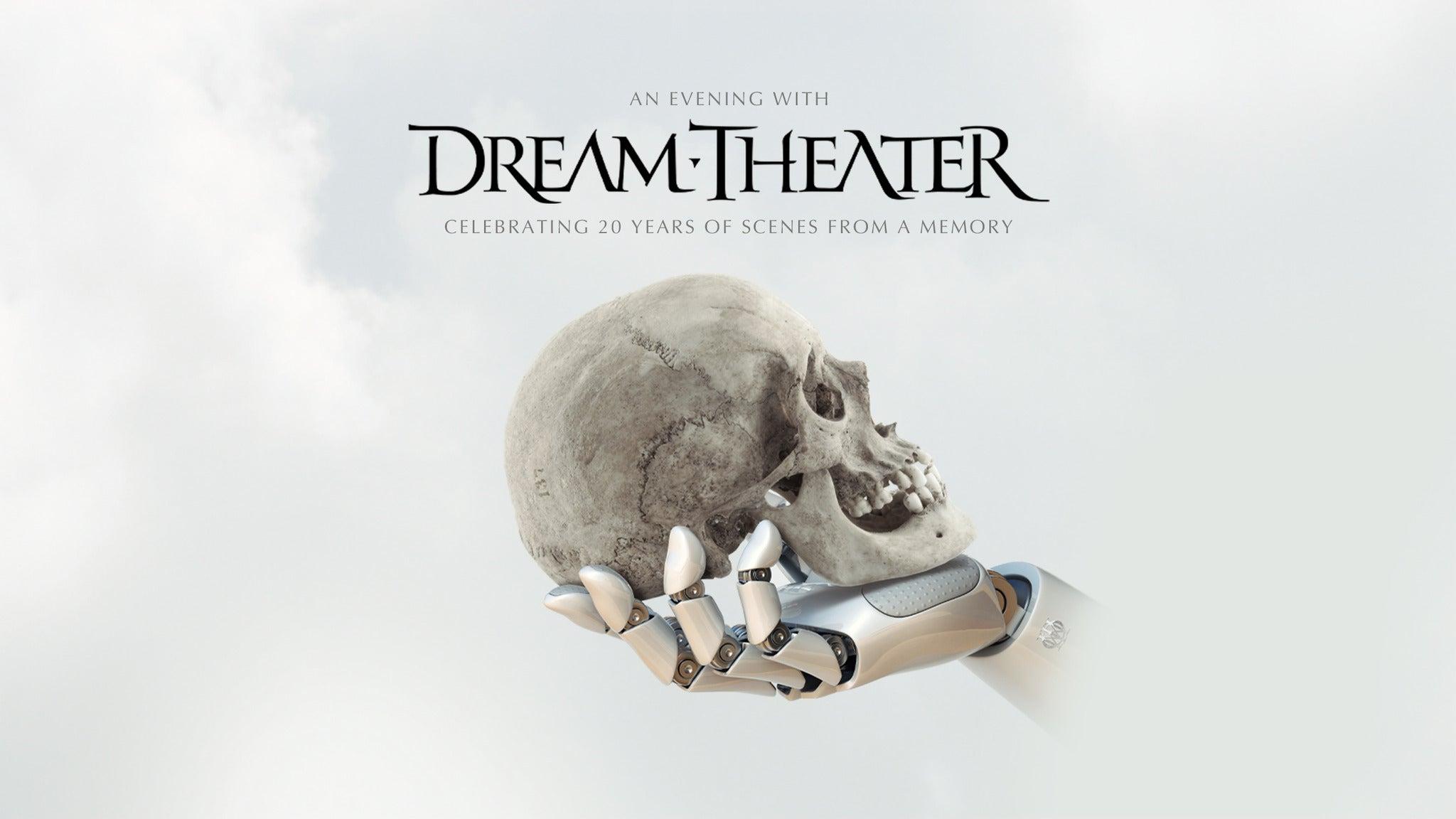 Dream Theater tickets (Copyright © Ticketmaster)