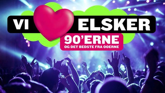 BAR KUPON HÆFTE til Vi Elsker 90'er i Holstebro 29. aug 2020