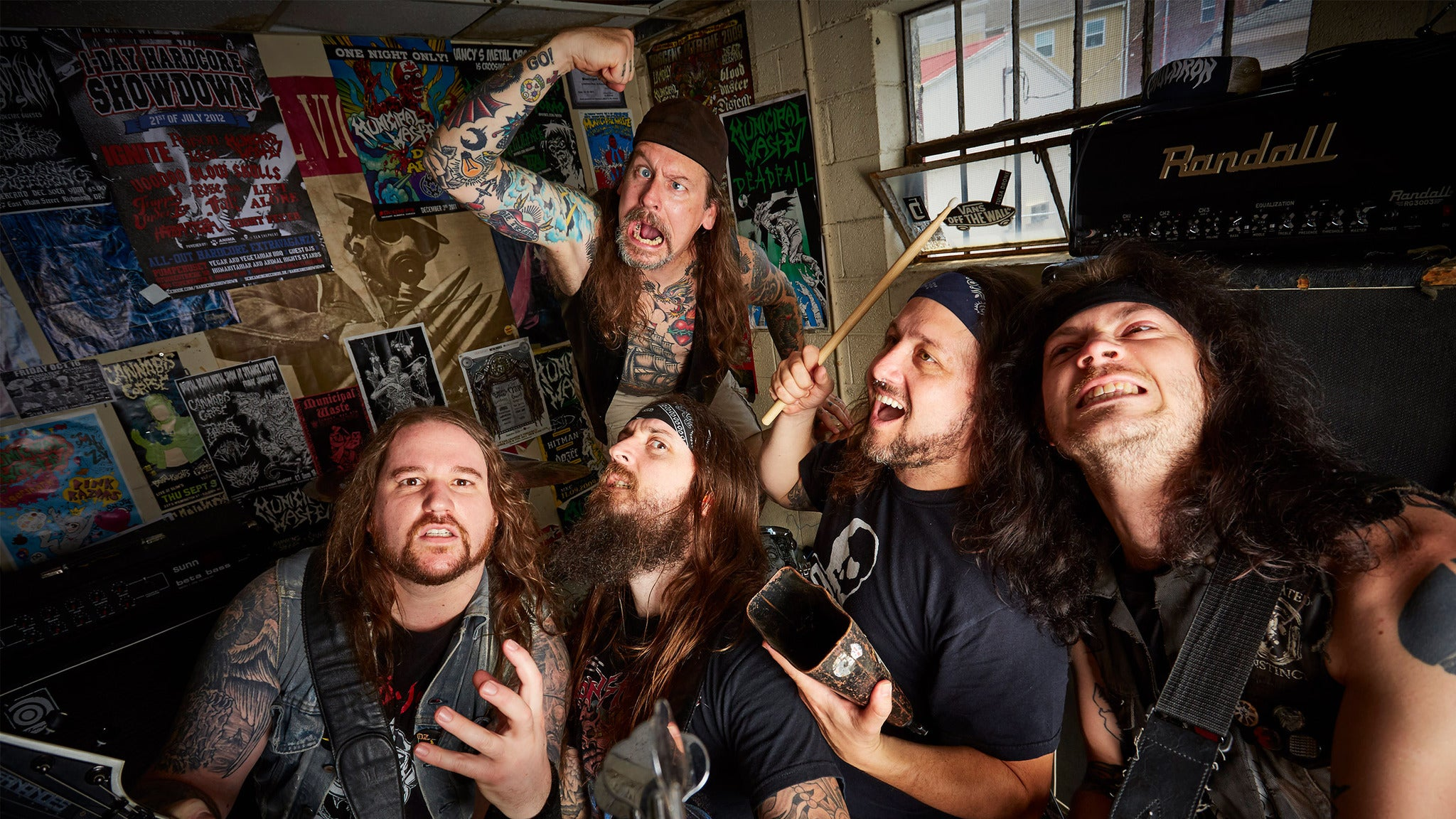 Teragram & Church Of The 8th Day Prsnt Municipal Waste & Napalm Death
