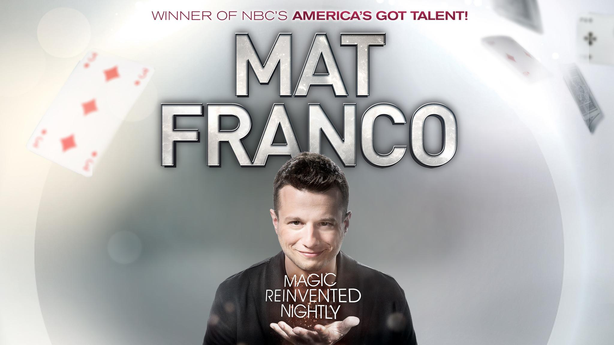 Mat Franco at IP Casino Resort and Spa