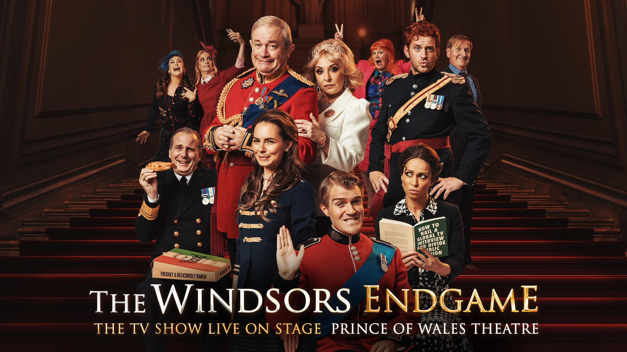 The Windsors: Endgame Event Title Pic