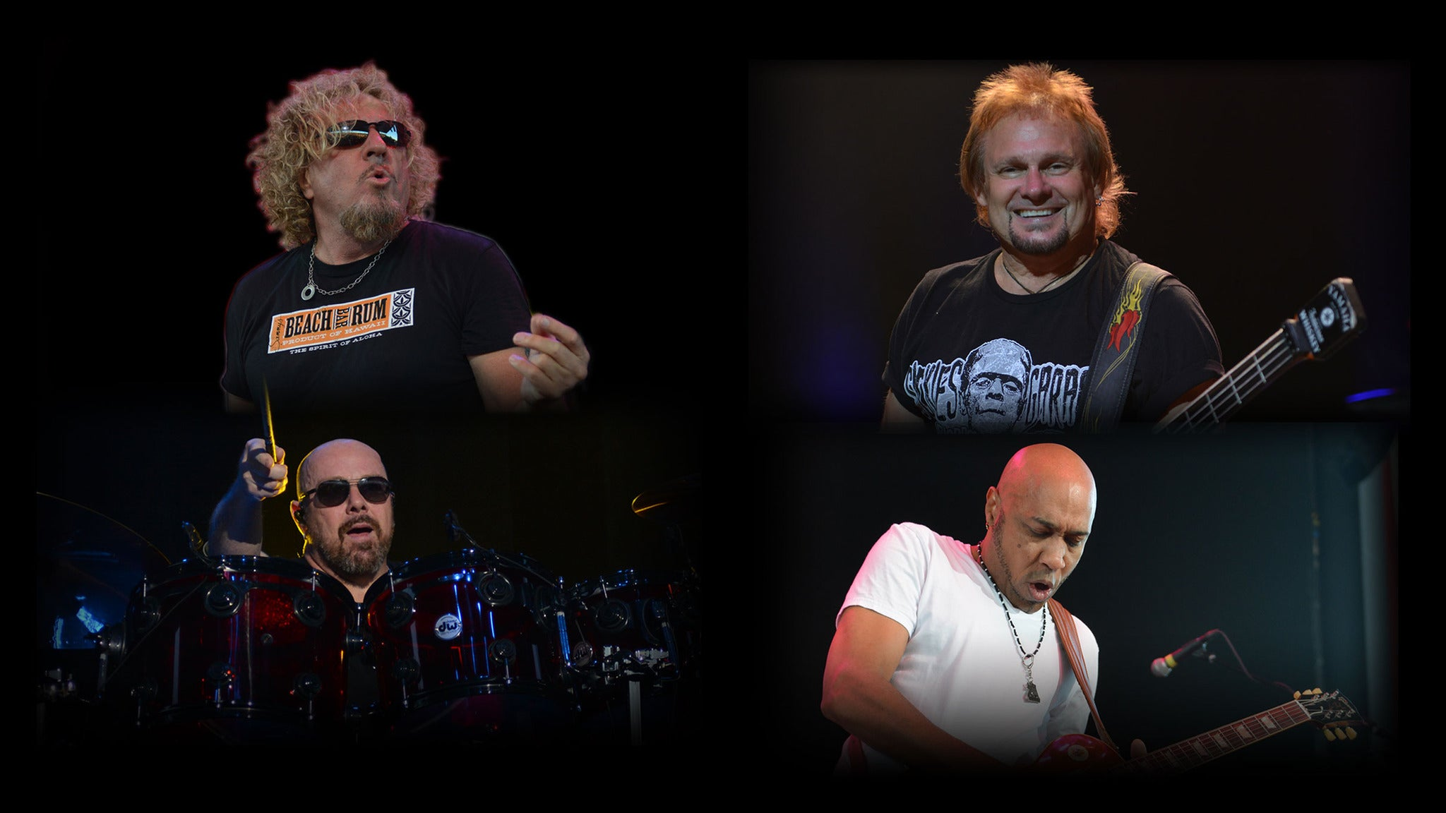 Sammy Hagar & The Circle at St Augustine Amphitheatre