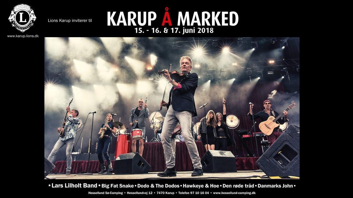 Karup Å-marked