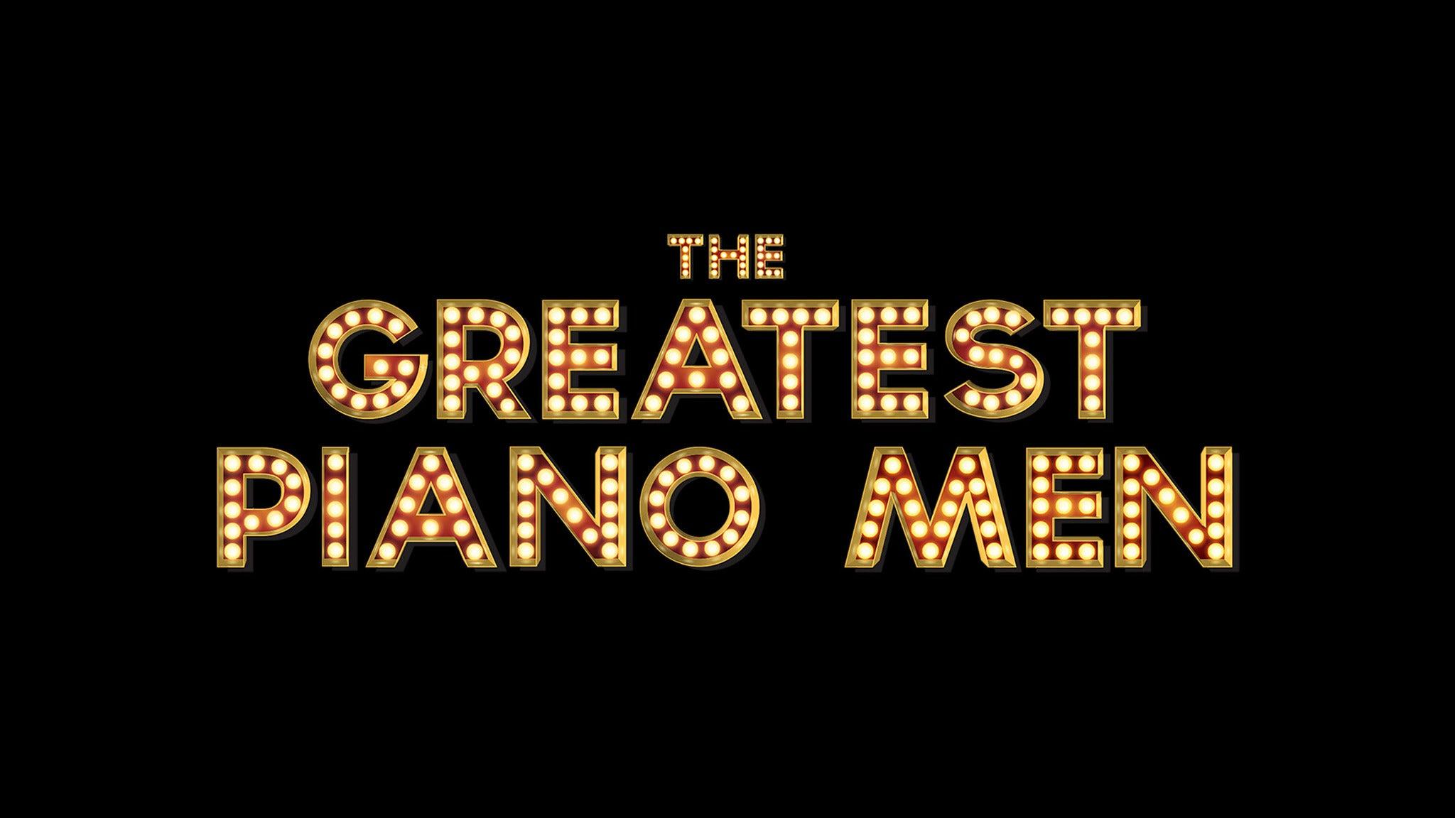 The Greatest Piano Men