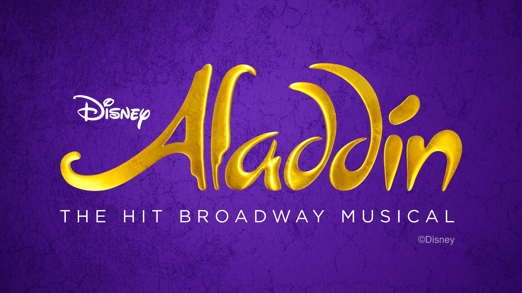 Aladdin (Touring) at Detroit Opera House