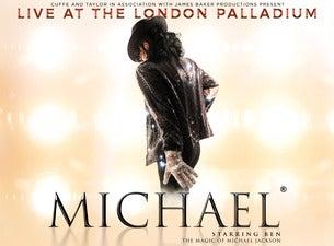 Michael Starring Ben: the Magic of Michael Jackson Seating Plans