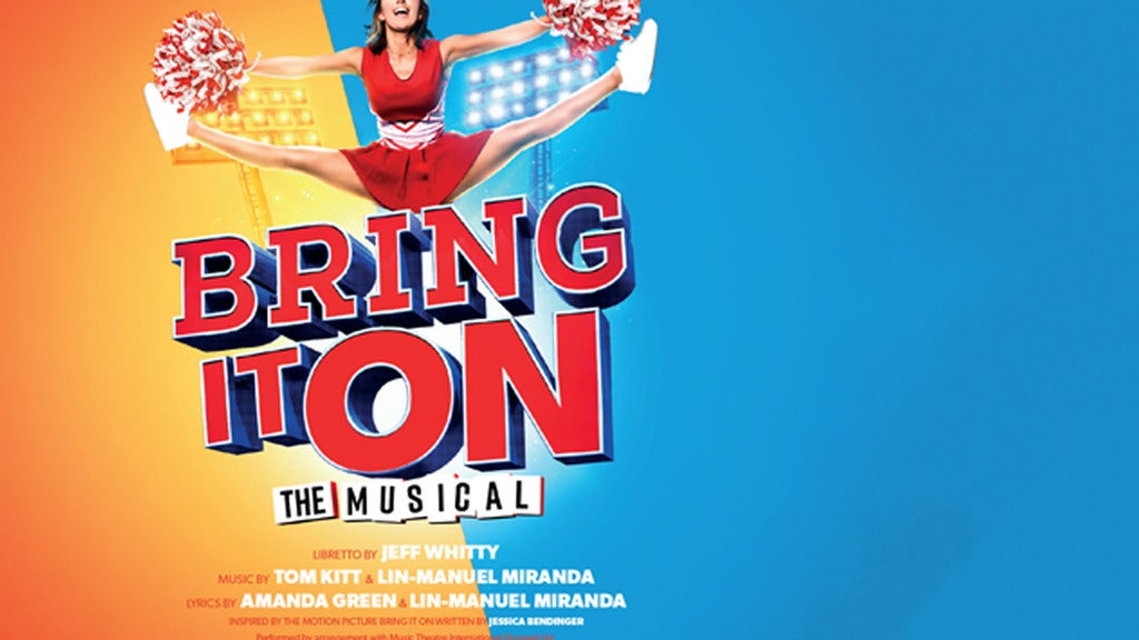 Bring It On: the Musical tickets (Copyright © Ticketmaster)