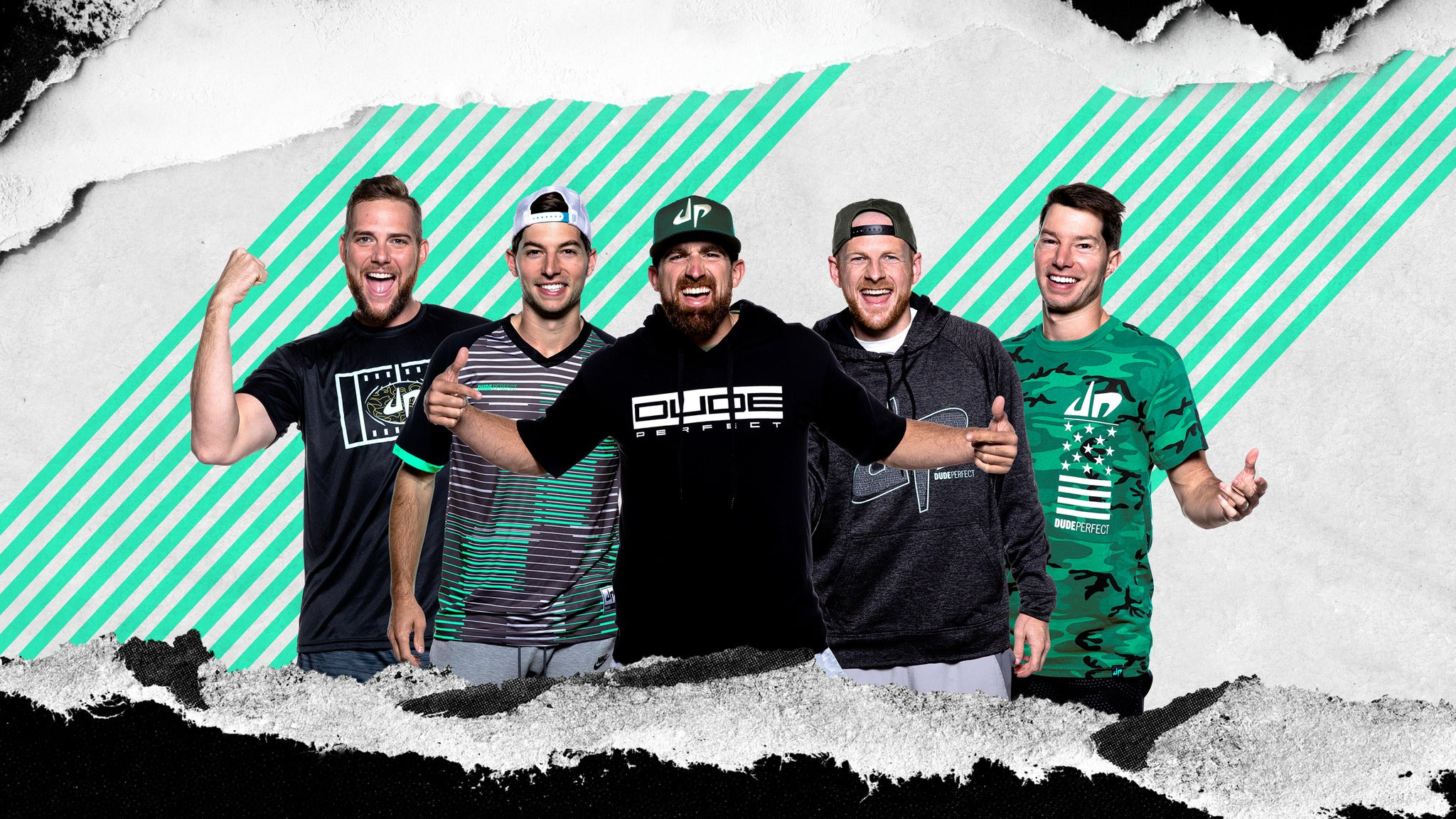 The Dude Perfect 2021 Tour pre-sale code for early tickets in Oklahoma City