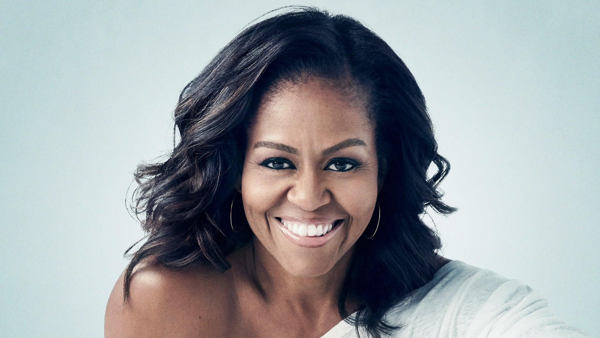 Michelle Obama at Pepsi Center