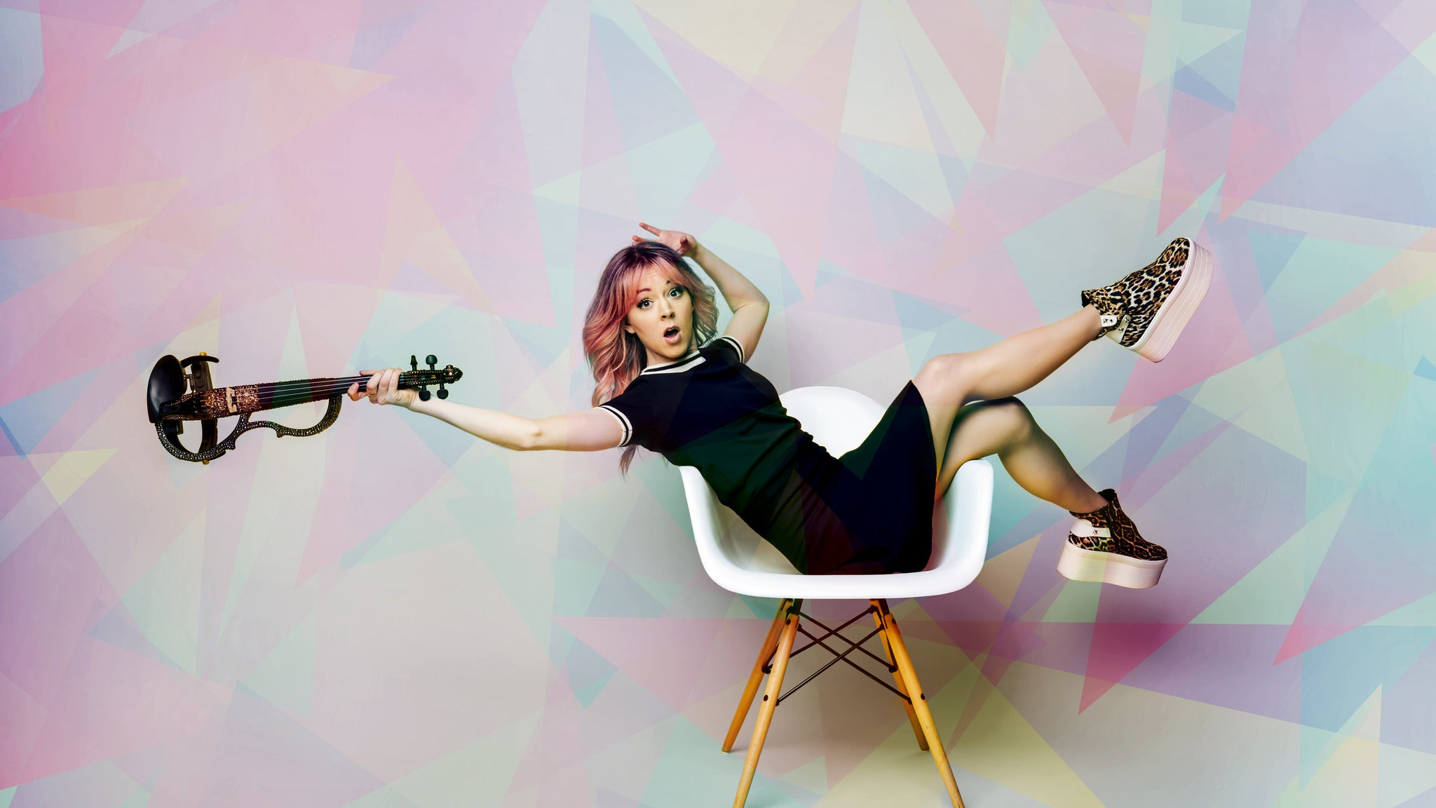 Lindsey Stirling w/ Kiesza at Gerald Ford Amphitheatre