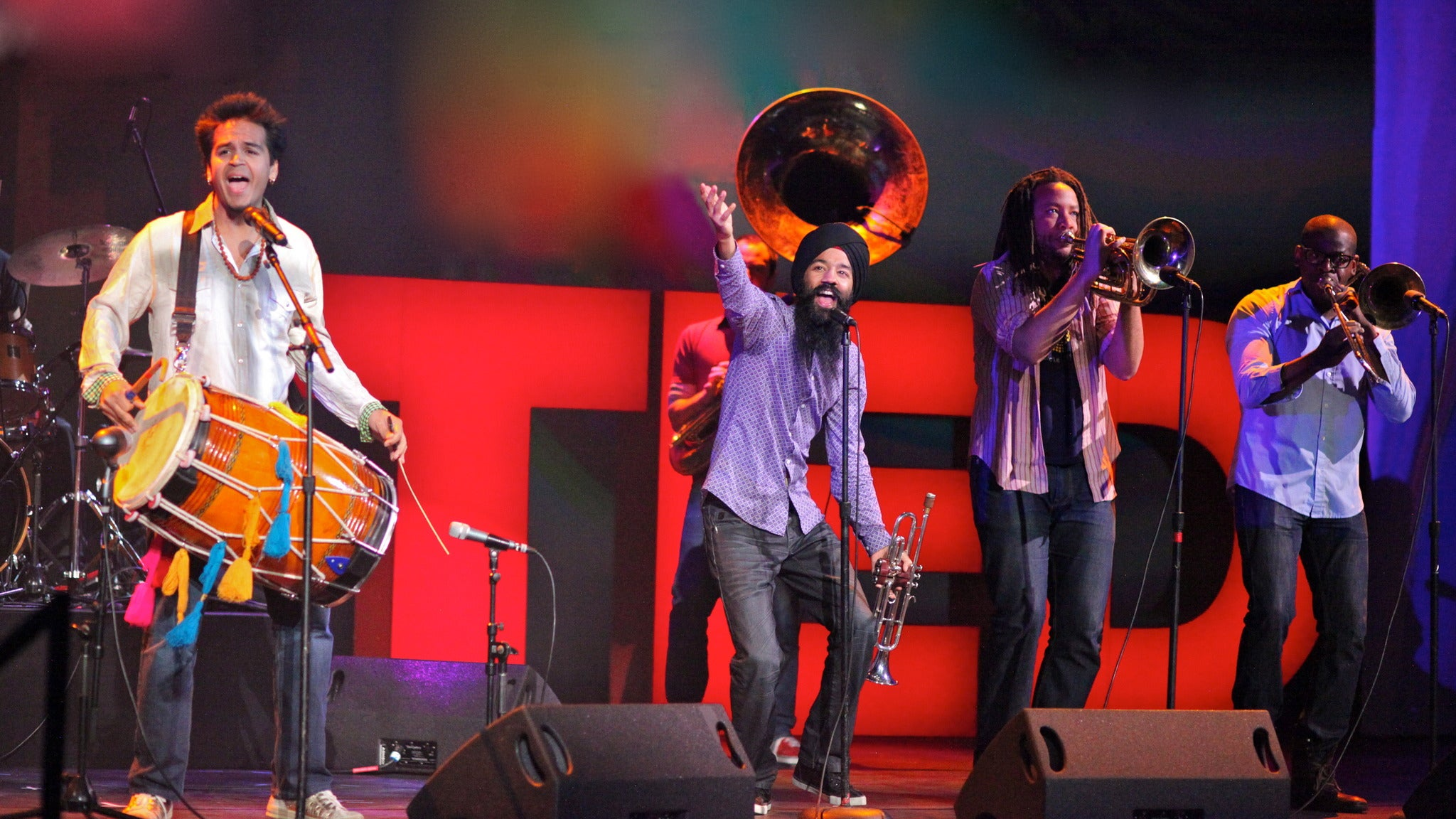 Red Baraat, Non Stop Bhangra at The New Parish
