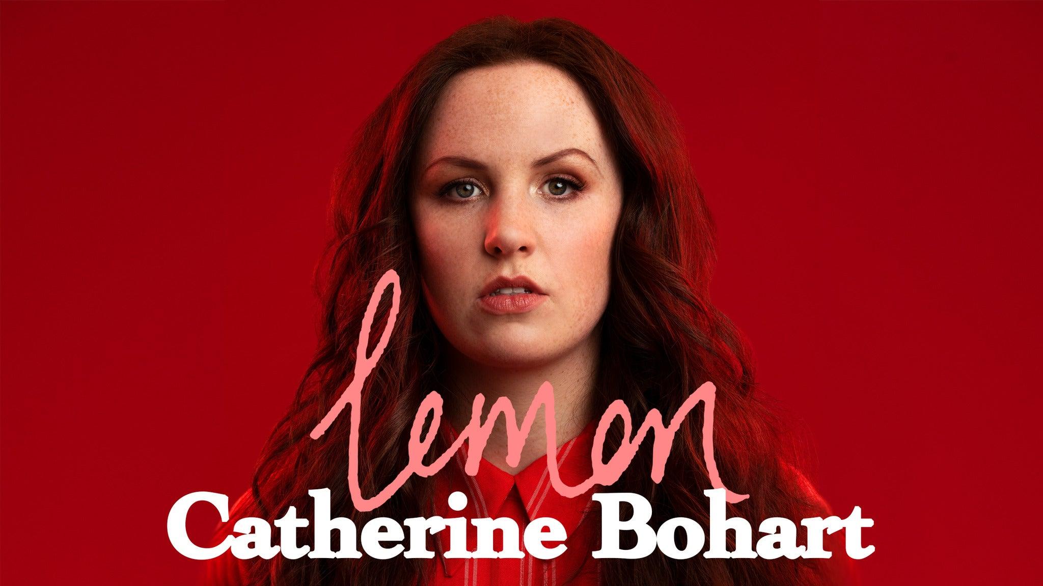 Catherine Bohart: Lemon Event Title Pic