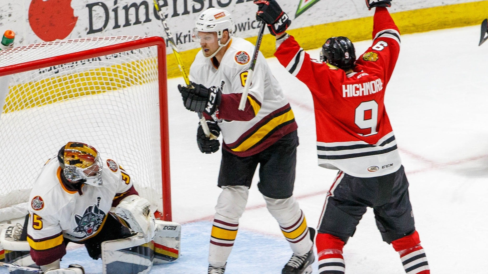 Rockford IceHogs vs Chicago Wolves at BMO Harris Bank Center