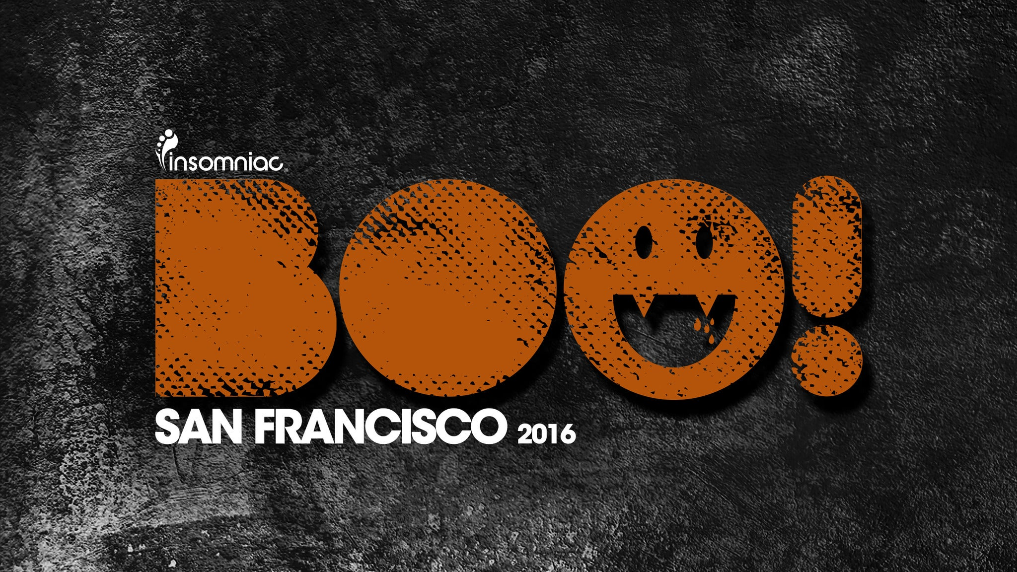 BOO! 2DAY GA Tickets at Bill Graham Civic Auditorium