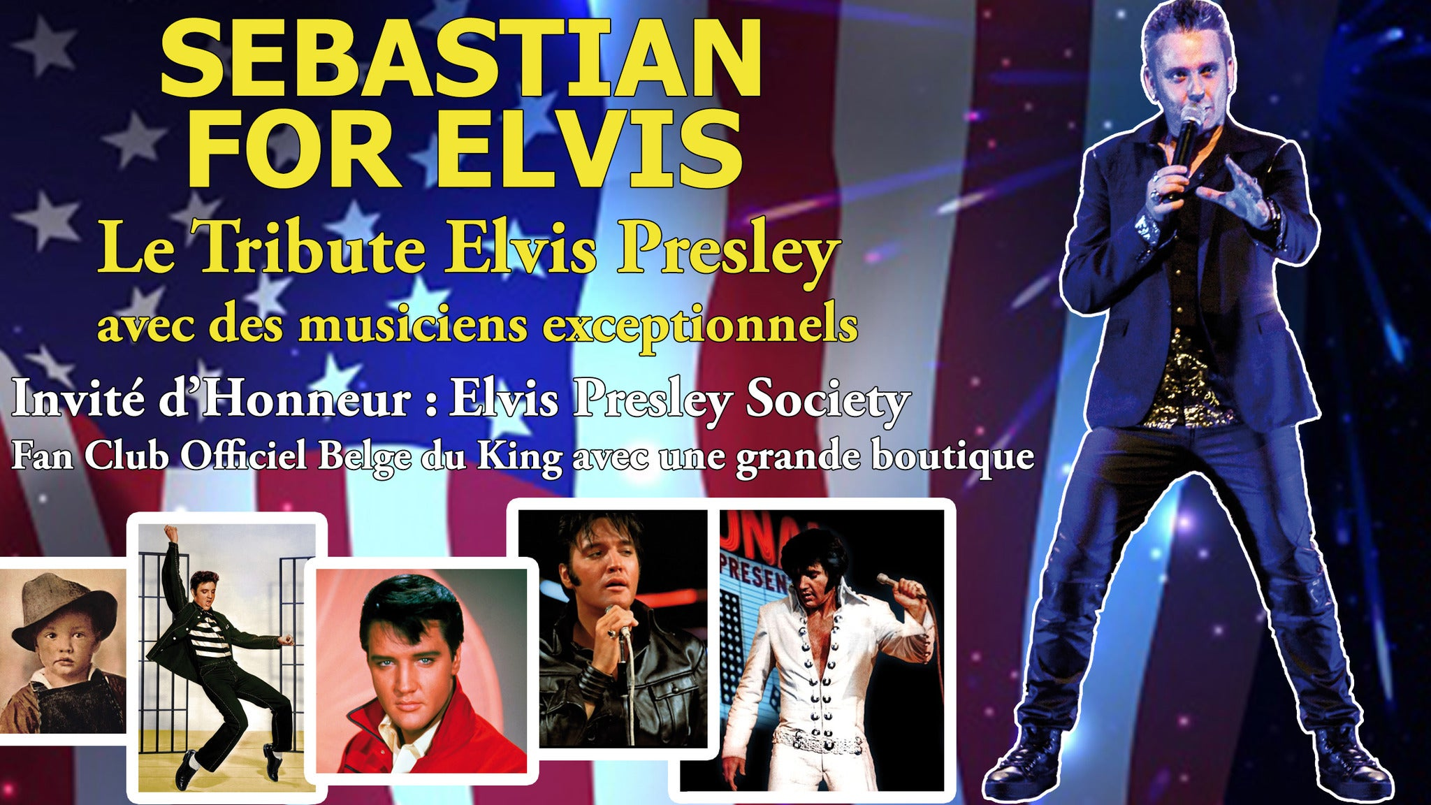 A Tribute to Elvis at MadLife Stage and Studios