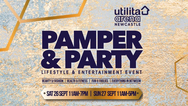 Pamper and Party - Saturday tickets (Copyright © Ticketmaster)
