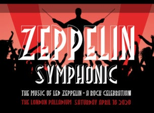 Zeppelin Symphonic, The Music of Led Zeppelin - a Rock Celebration tickets (Copyright © Ticketmaster)