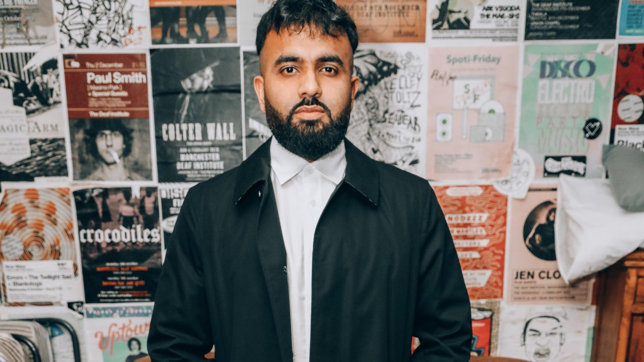 Hussain Manawer tickets (Copyright © Ticketmaster)