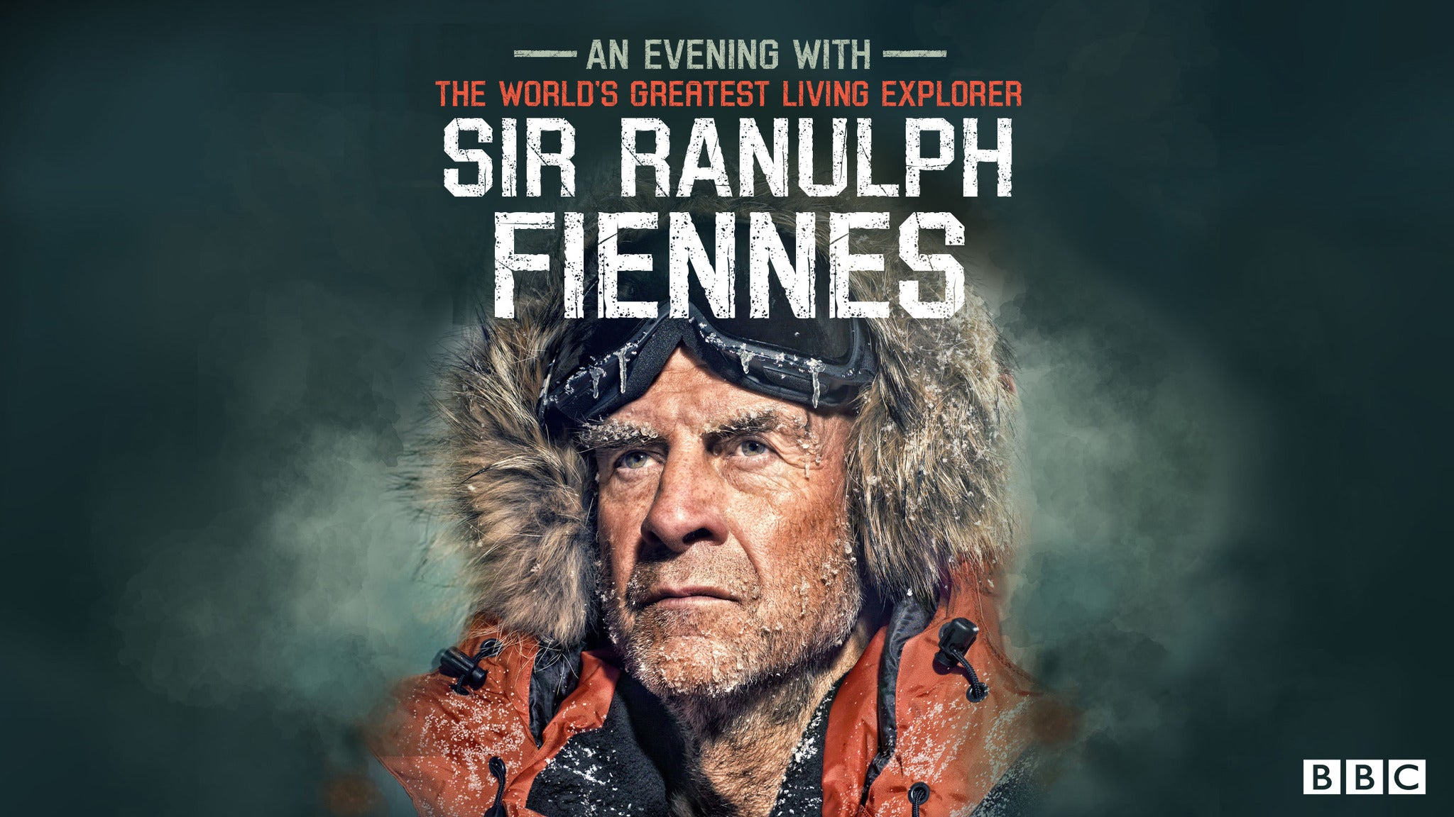 Sir Ranulph Fiennes : Living Dangerously Event Title Pic