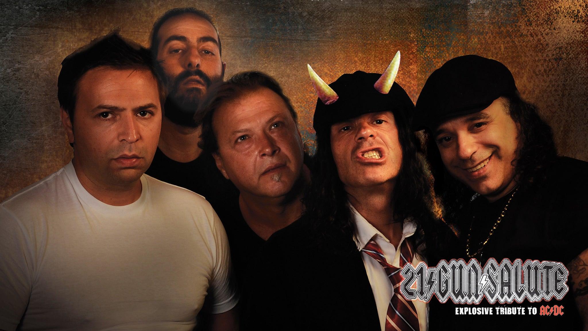 21 Gun Salute: An Explosive Tribute To AC/DC
