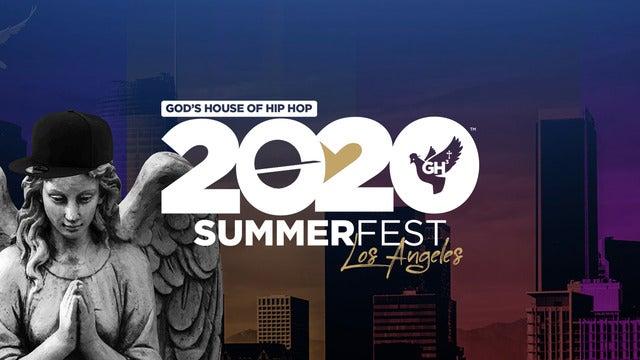 God's House of Hip Hop 20/20 Summer Fest