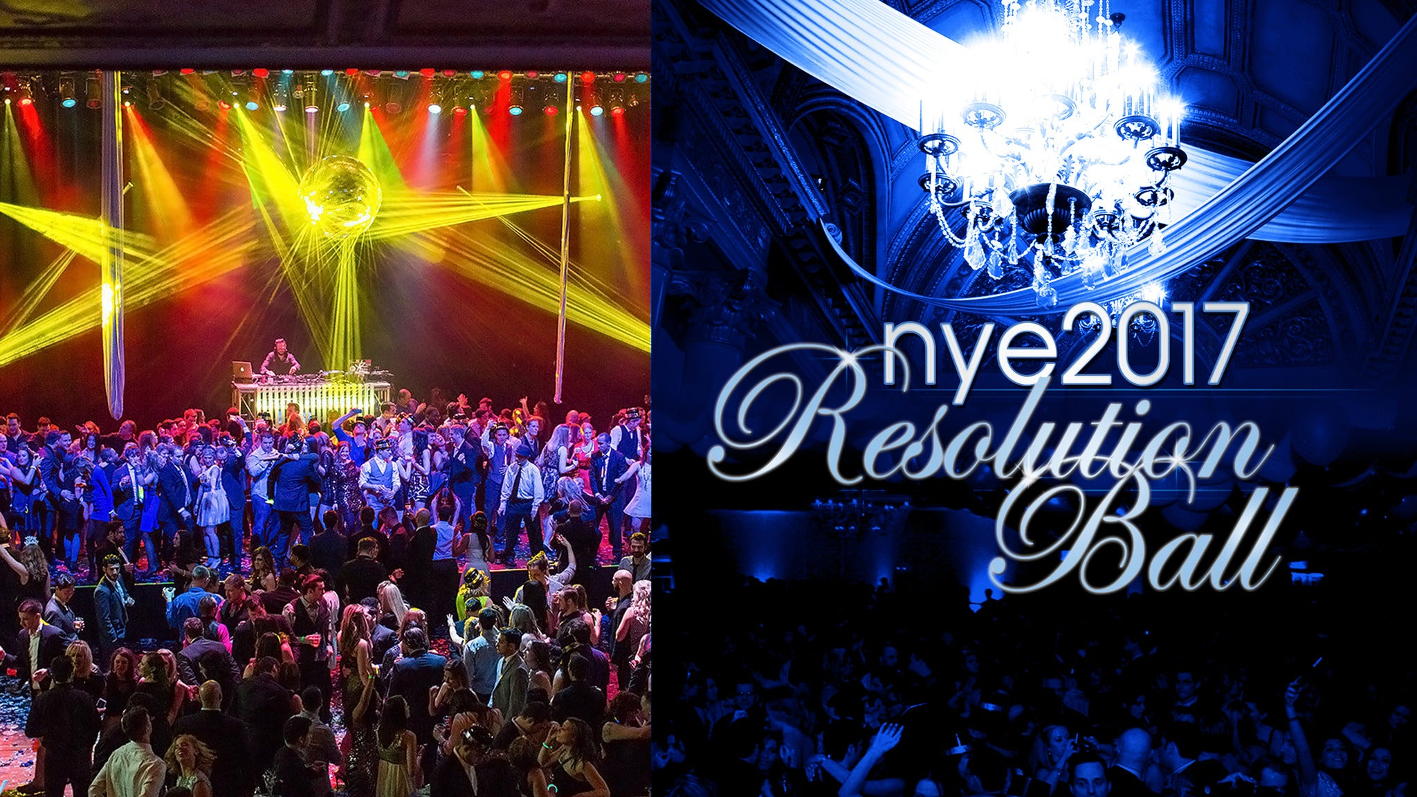 New Year's Eve Resolution Ball at The Fillmore Detroit - Detroit, MI 48201