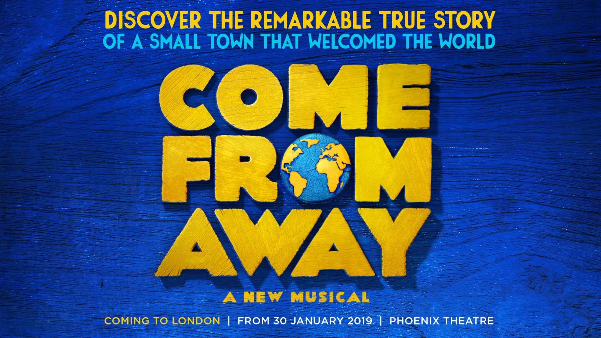 Come From Away - Groups Event Title Pic