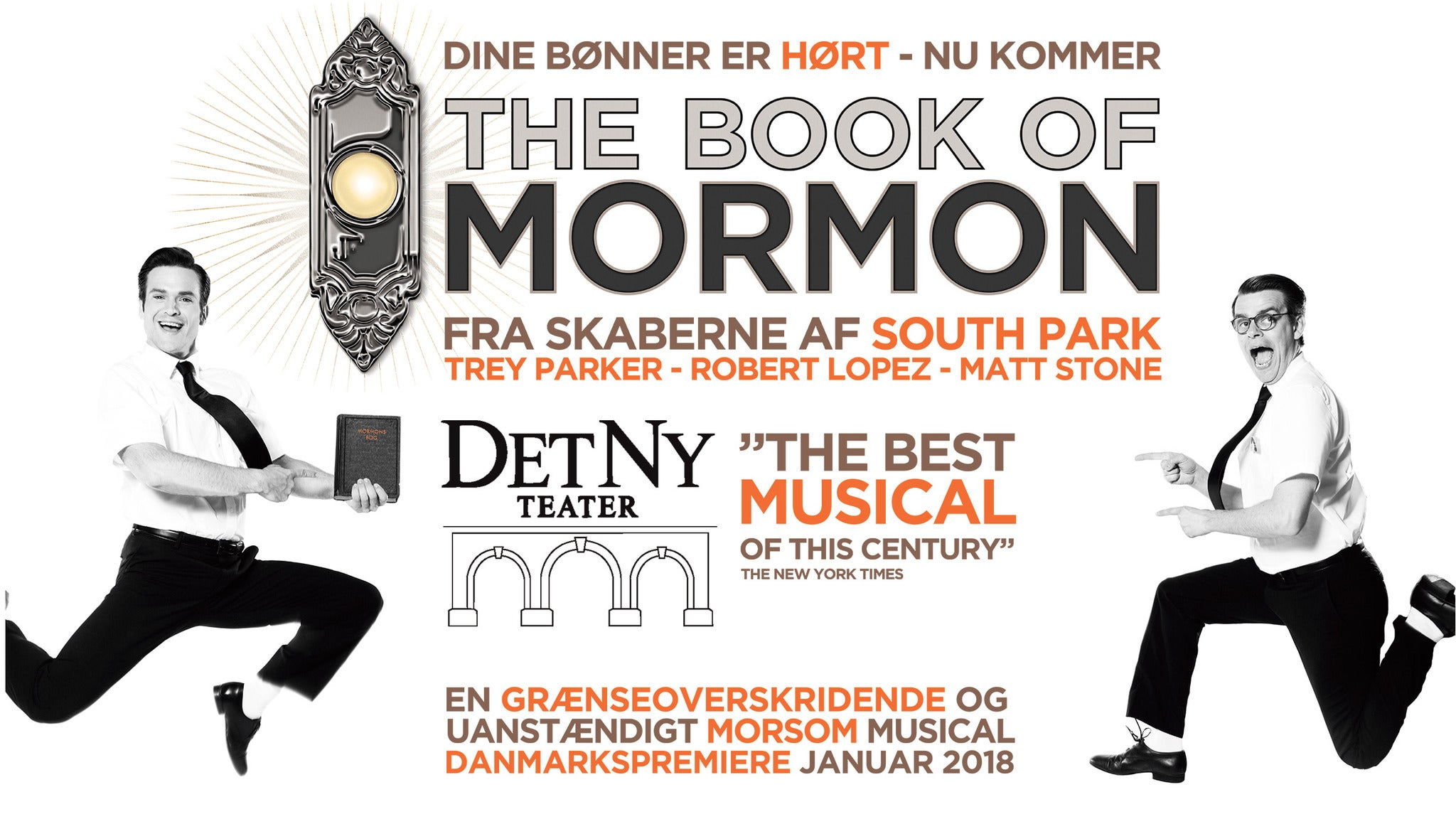 The Book of Mormon at Sacramento Community Center Theater - Sacramento, CA 95814