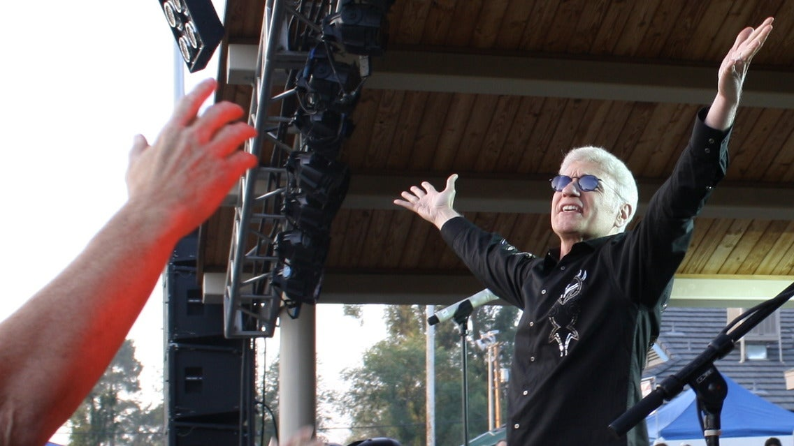 Dennis DeYoung at Del Mar Fairgrounds