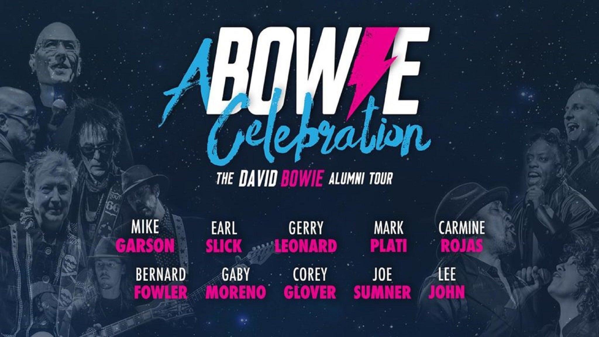 A Bowie Celebration at Keswick Theatre