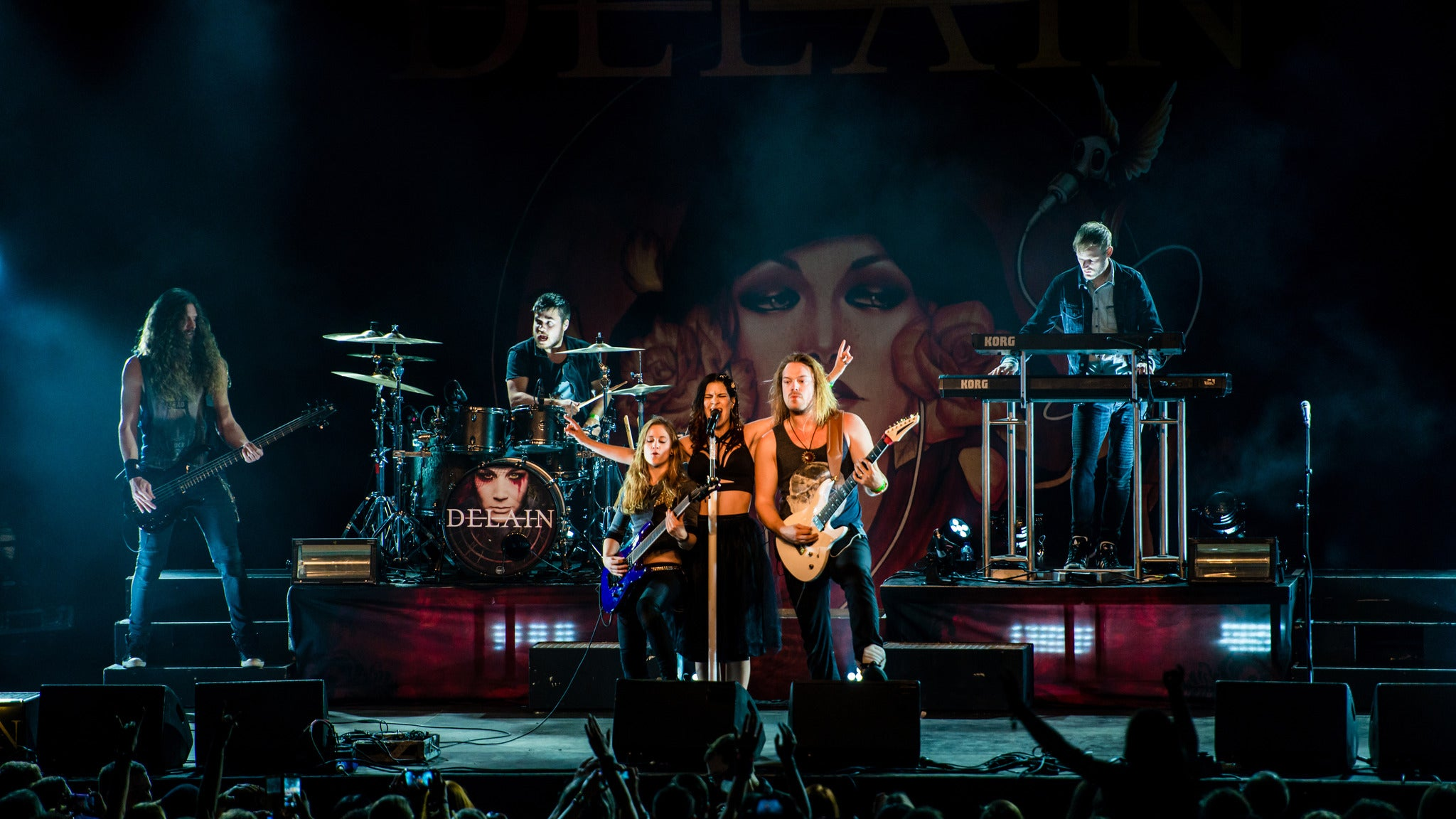 Delain w/ Amorphis at Gothic Theatre