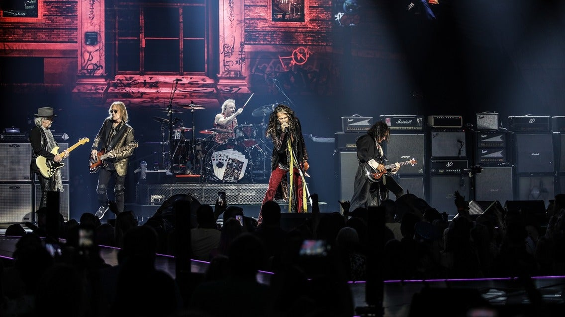 Aerosmith: European Tour 2020 tickets (Copyright © Ticketmaster)