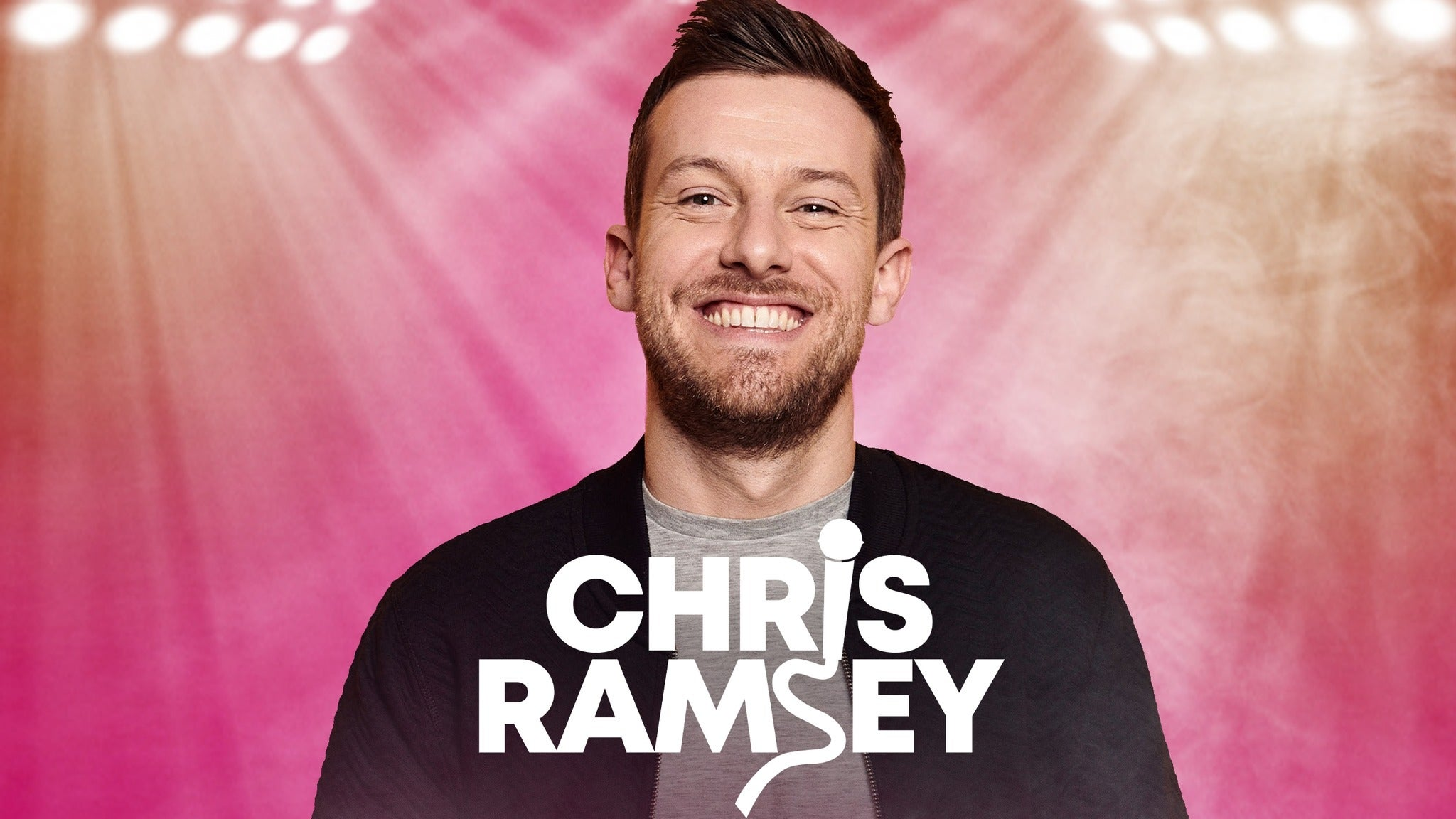 Chris Ramsey tickets (Copyright © Ticketmaster)