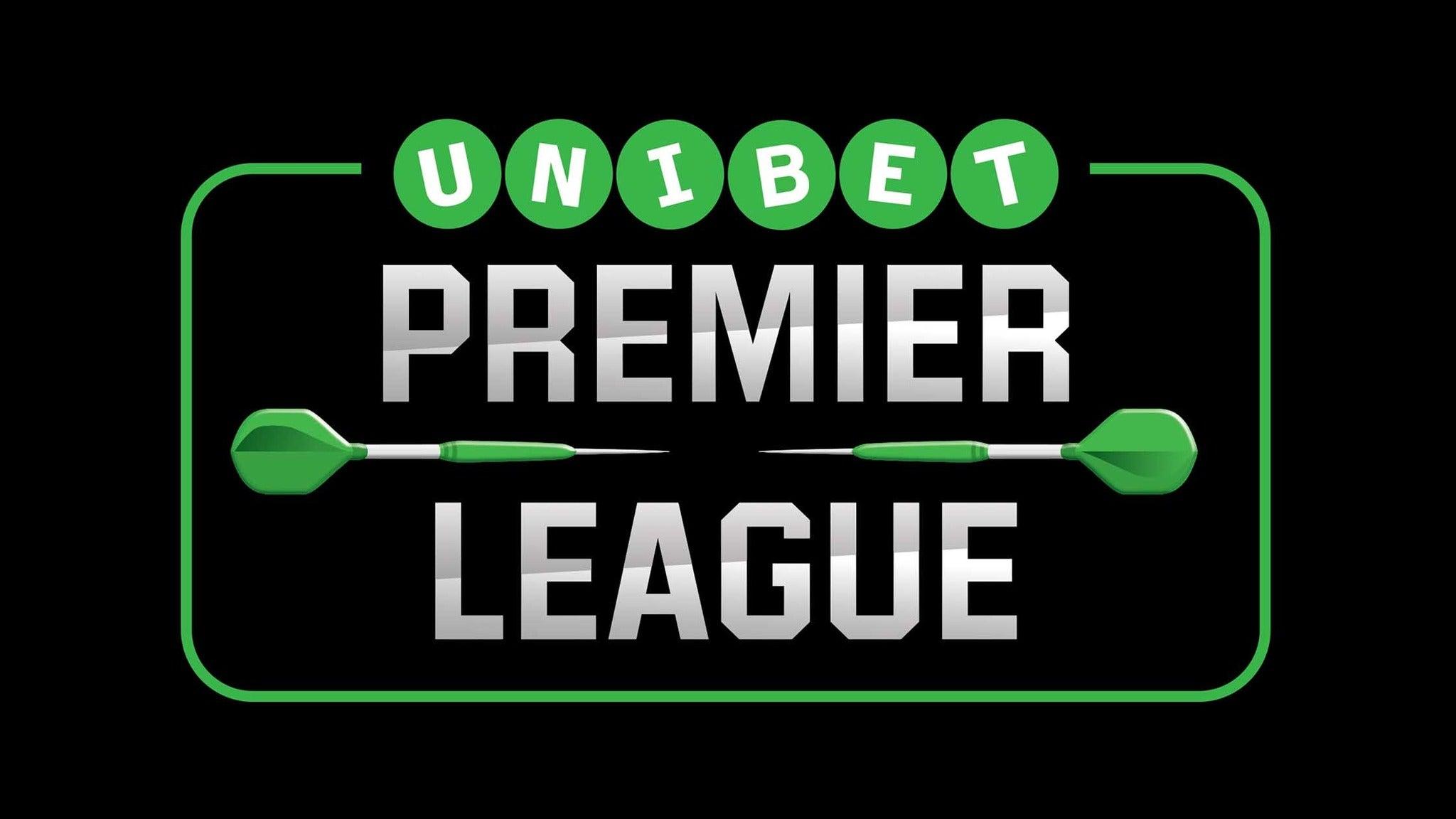 foto ticket 2018 Unibet Premier League Darts