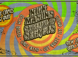 Nick Mason's Saucerful Of Secrets, 2021-05-31, Брюссель