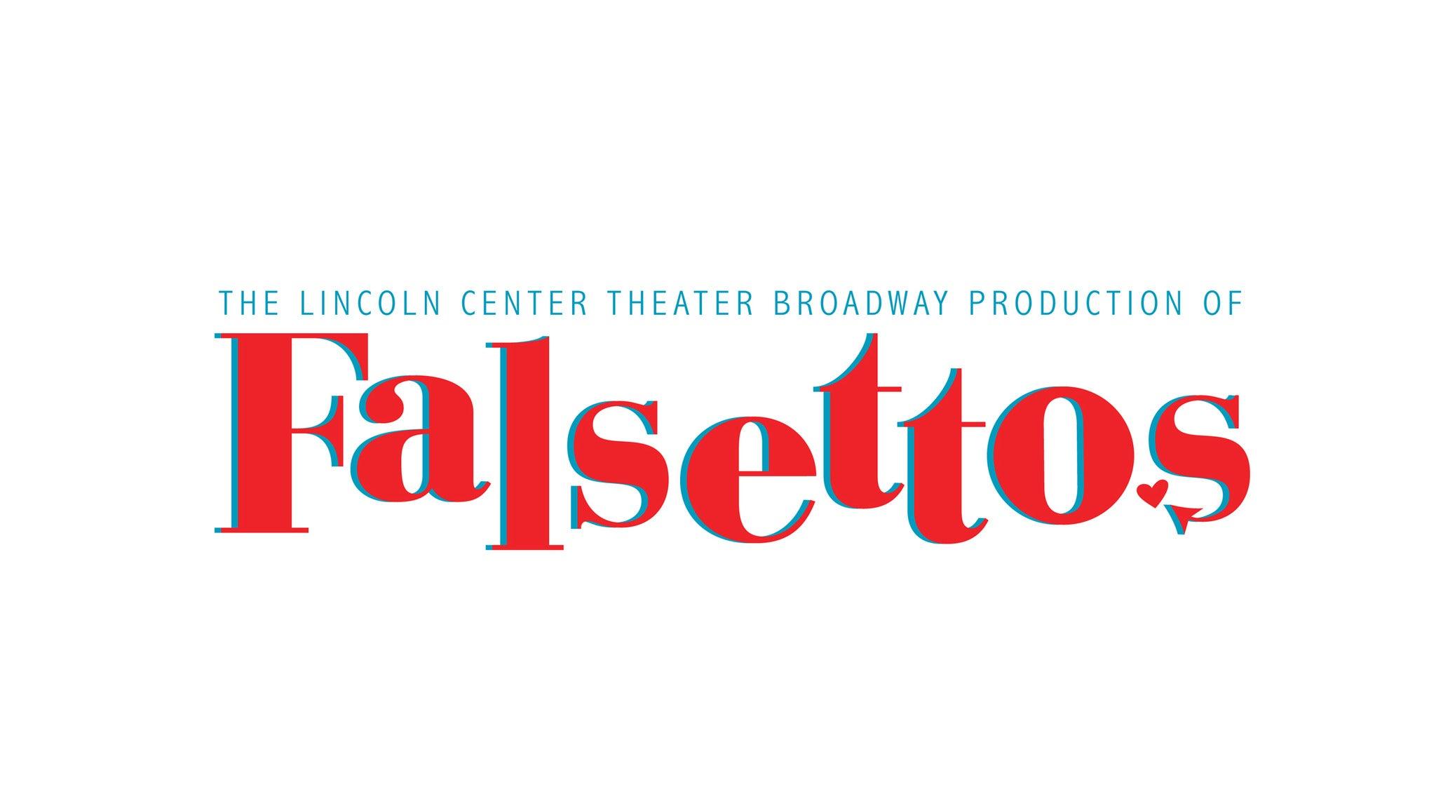 Falsettos (Chicago) at James M. Nederlander Theatre - Chicago, IL 60601