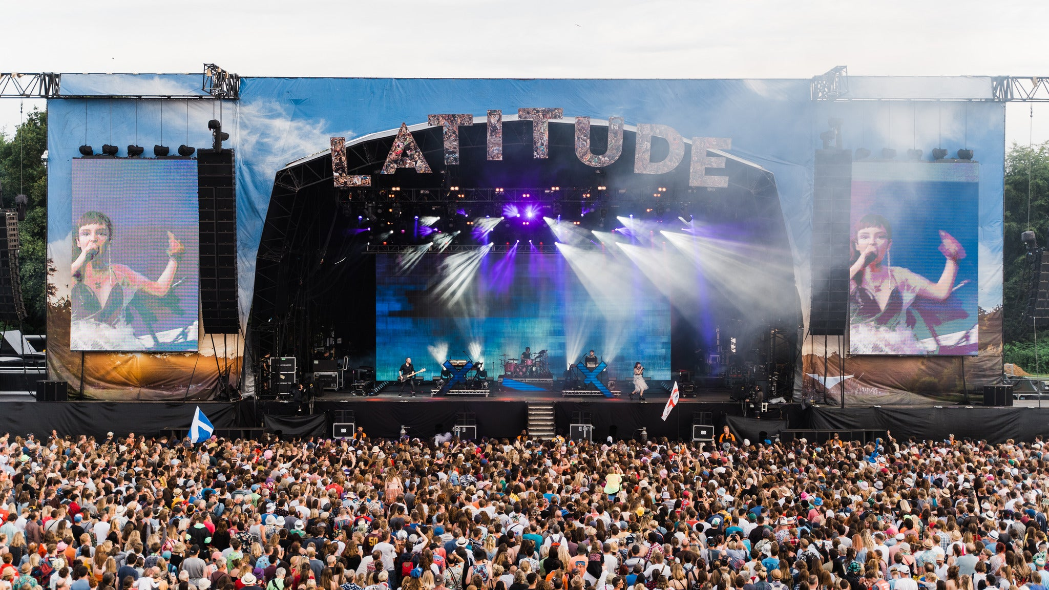 Latitude 2020 - Caravan and Car Pass in Standard Camping tickets (Copyright © Ticketmaster)