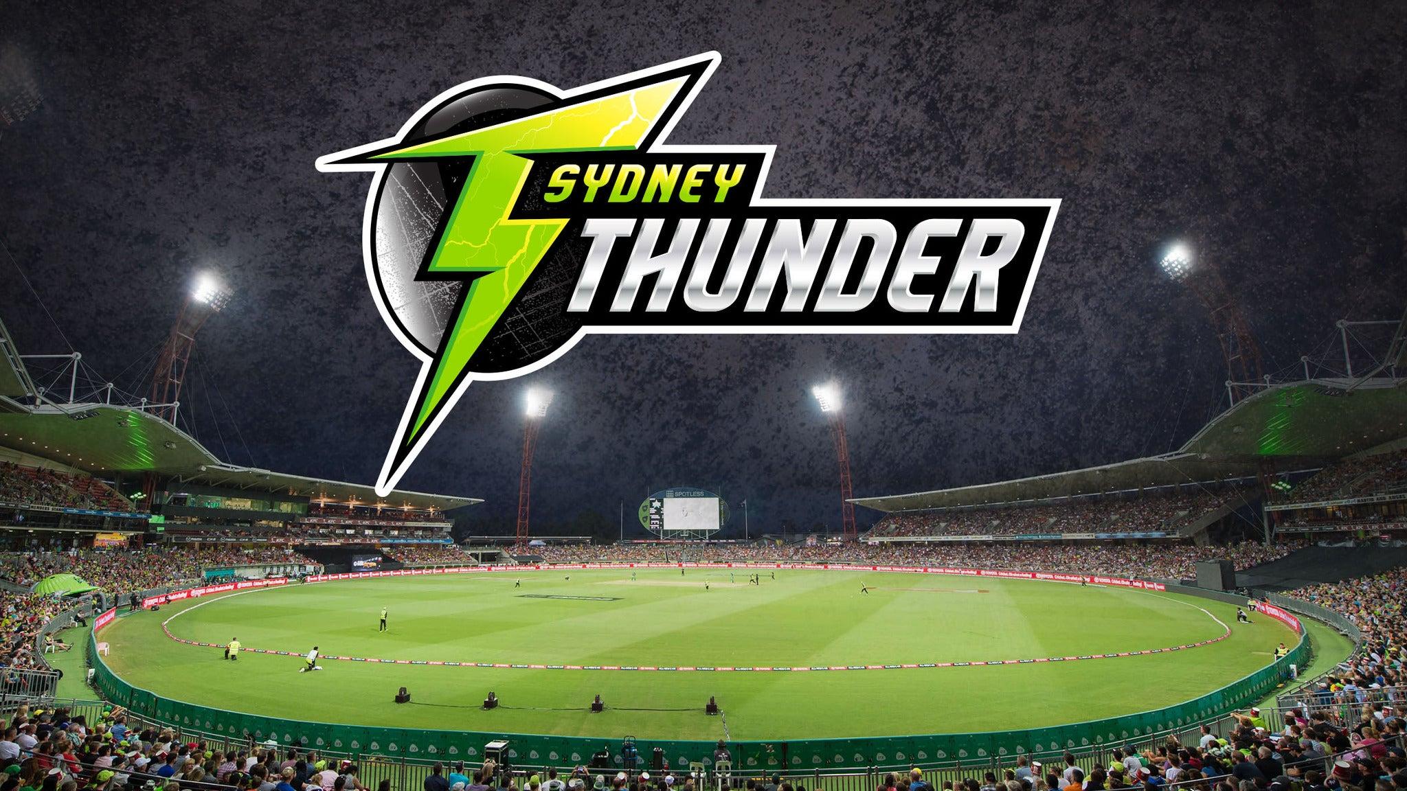 Sydney Thunder v Melbourne Renegades