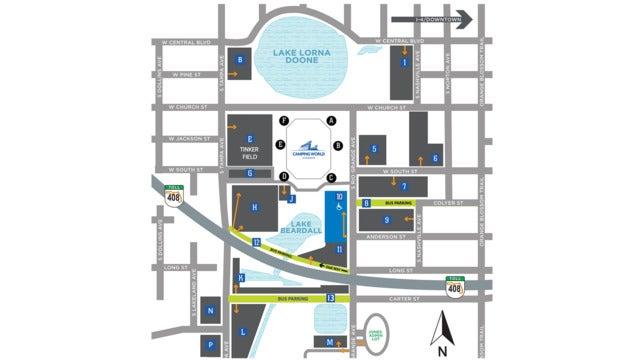 Orlando Venues Parking