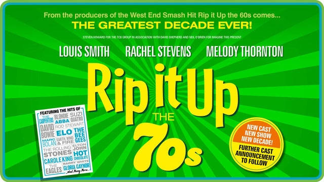 Rip It Up - the 70's Seating Plans