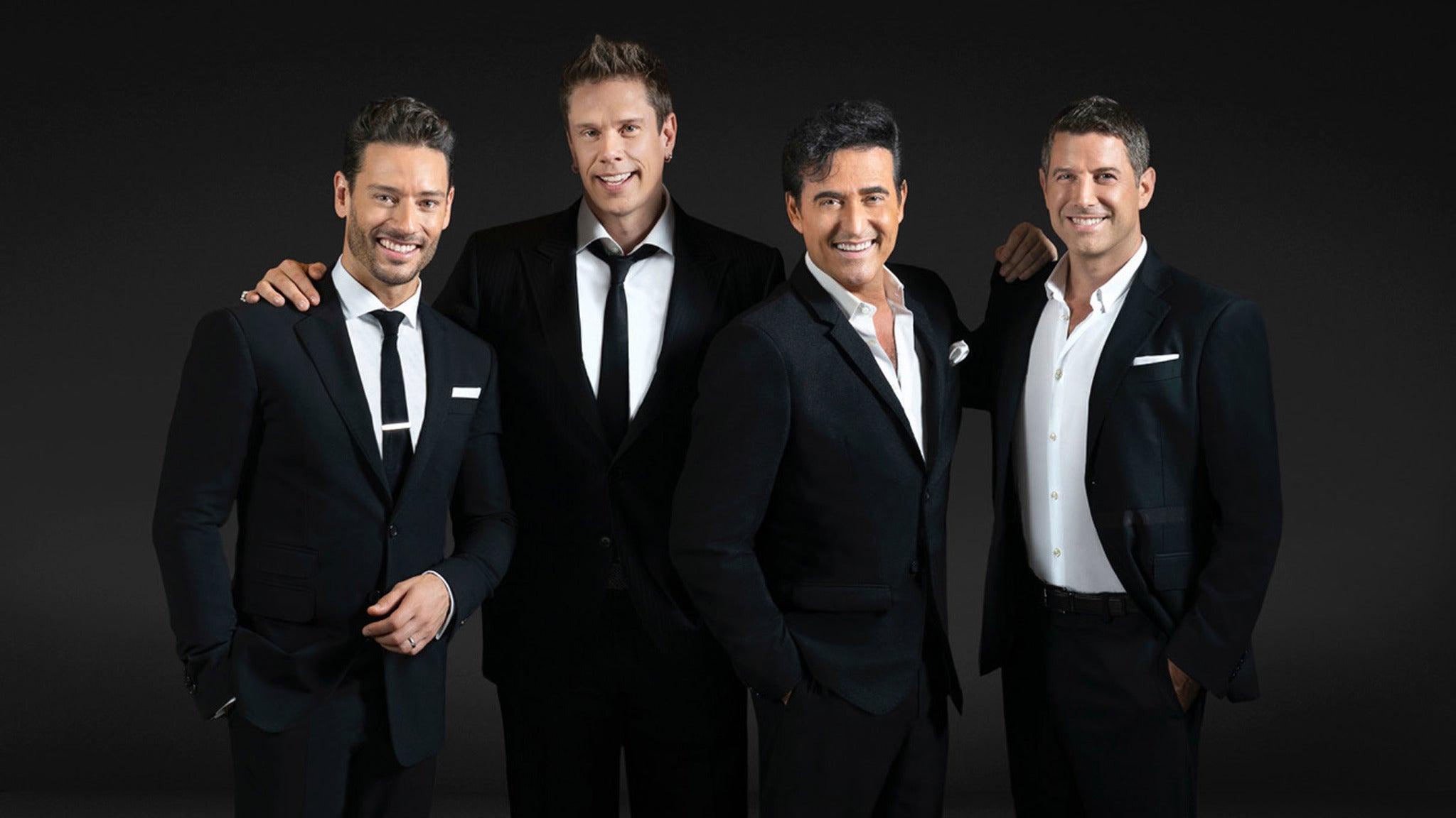 Il Divo Tickets 2021 Concert Tour Dates Ticketmaster