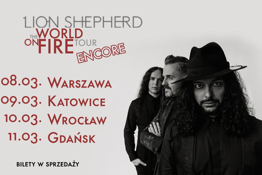 Lion Shepherd World On Fire Tour 2020
