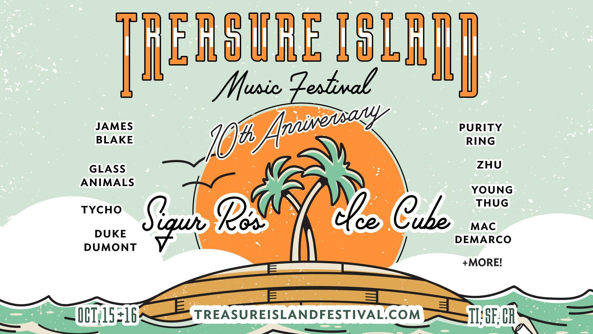Treasure Island Music Festival - 2DAY GA Ticket
